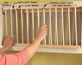 cabinet facelift plate racks diy cupboards diy plate rack