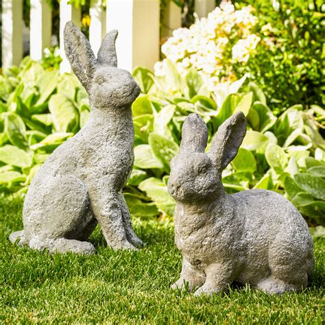 bunny garden statue bunny garden statues gump s