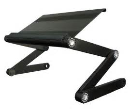 standing laptop desk stand with adjustable zigzag legs
