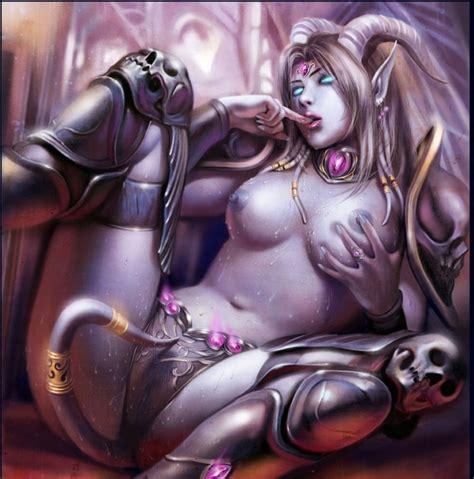 naked female worgen hentai