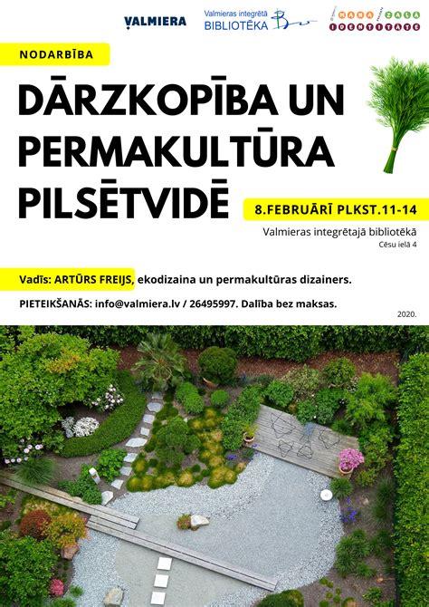 Nodarbība par dārzkopību un permakultūru pilsētvidē ...