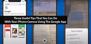 Three Useful Tips That You Can Do With Your Iphone Camera