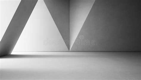 abstract interior design  modern showroom  empty