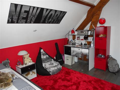 Chambre New York Garcon Cuisine Deco Chambre Ado Garcon New York Visuel Chambre