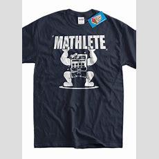 Funny Math Shirt Mathlete Pi 314 Math Mathematics Science