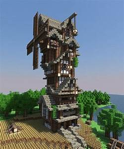 | Medieval | Windmill Minecraft Project