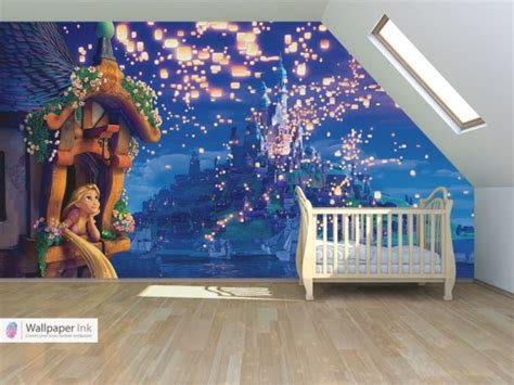 Disney Wallpaper For Bedrooms by Everything Tangled Rapunzel Eugene Themed Ideas