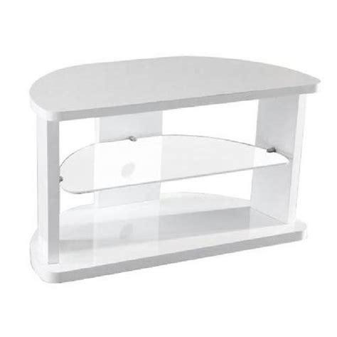 meuble tv d angle laque blanc mila achat vente meuble tv meuble tv d angle laque blanc mdf