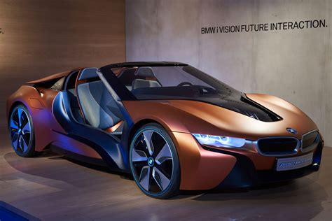 Modifikasi Bmw I8 Roadster by Bmw S Ivision Future Concept Is An I8 Spyder Of Far