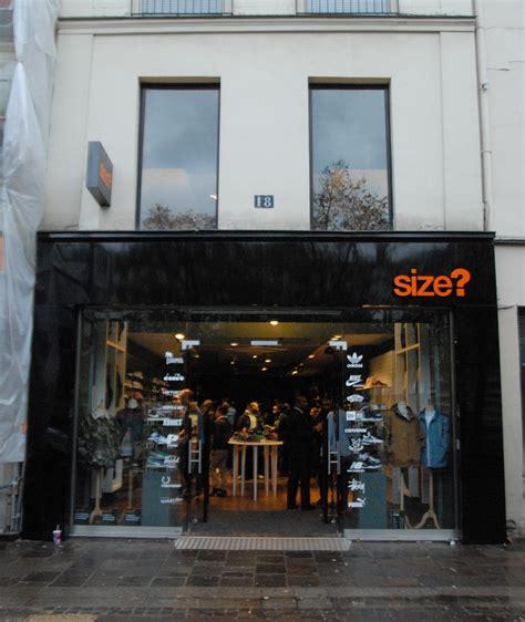 magasin de cuisine chatelet la boutique de sneakers size va ouvrir à chatelet le