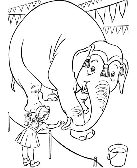 printable circus coloring pages  kids