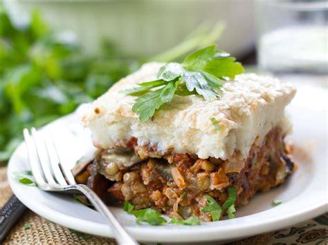 vegan eggplant moussaka connoisseurus veg