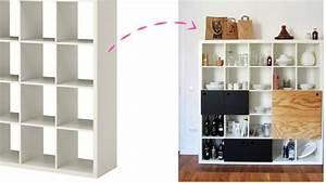 Bibliothèque Meuble Ikea : cuisine ikea comment customiser vos meubles en 30 ikea ~ Dallasstarsshop.com Idées de Décoration