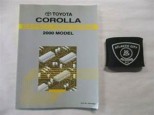 2000 Toyota Corolla Electrical Wiring Diagram Service