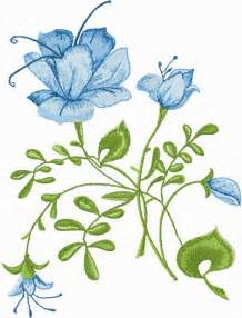 free embroidery designs blue free machine embroidery design