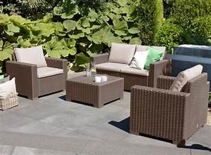 But Salon De Jardin : salon de jardin california cappuccino oogarden france ~ Melissatoandfro.com Idées de Décoration
