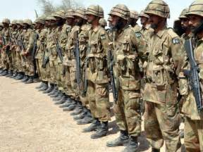 The military establishment had sought an 18% increase. PHOTO: FILE Pakistan
