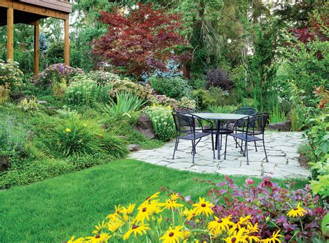 garden slope solutions 4 solutions for a sloped yard sunset magazine