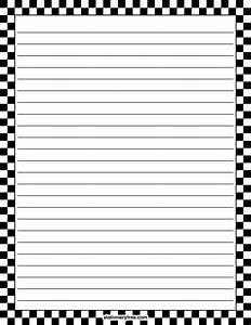 free printable graph paper black lines printable black and white checkered stationery and writing