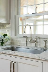 Gray subway tile backsplash transitional kitchen for What kind of paint to use on kitchen cabinets for jeweled metal wall art