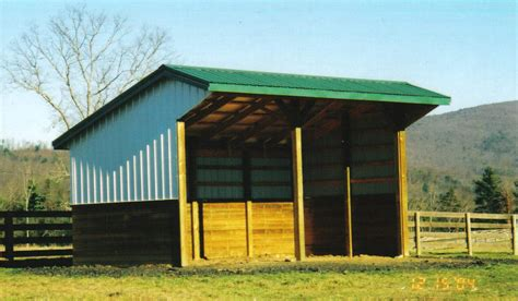 cattle run in shed vaframe