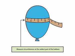 How To Find The Volume Of A Balloon