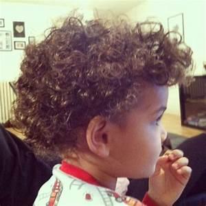 Curly Hair Mixed Boy - Short Curly Hair