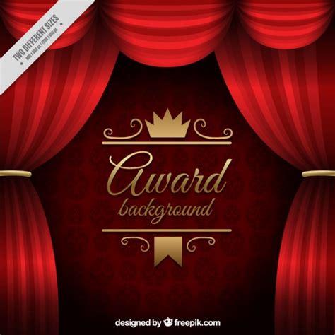 cortinas vermelhas fundo premio baixar vetores gratis