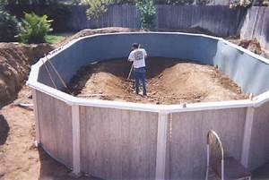Kosten Für Pool : how to install an above ground oval pool pool pinterest ~ Markanthonyermac.com Haus und Dekorationen
