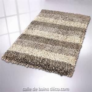 tapis de bains tapis lounge taupe kleine wolke With tapis de bain taupe