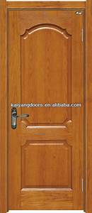 Porte En Bois Intérieur : int rieur rouge ch ne en bois placage panneau de porte ~ Dailycaller-alerts.com Idées de Décoration