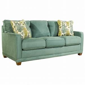 La z boy kennedy transitional supreme comforttm queen sleep for La z boy sectional sleeper sofa