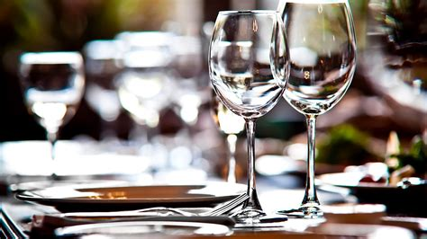 wine glass placement on table how to set a table properly good manners youtube