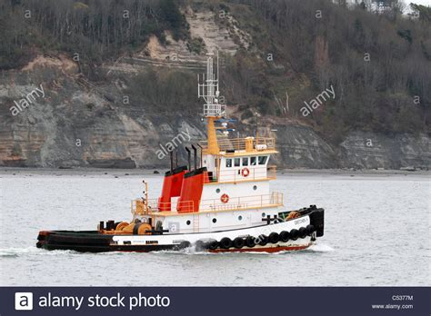 Tug Boat Sound by The Gretchen H Tug Boat Traveling Puget Sound Inland
