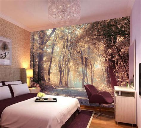 colorful autumn scenery wall mural photo wallpaper