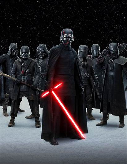 Ren Knights Wars Star Kylo Rise Skywalker