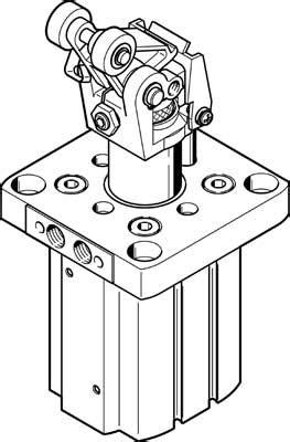 Festo DFST-50-30-L-Y4-A 555572 | Festo Stopper Cylinders