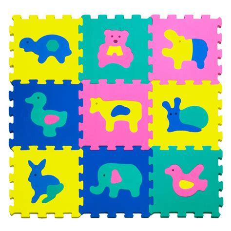 dalles mousse animaux baby smile king jouet tapis d