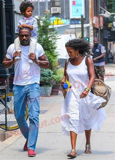 PICS: Idris Elba Takes His ADORABEL Son Out For A Stroll ...