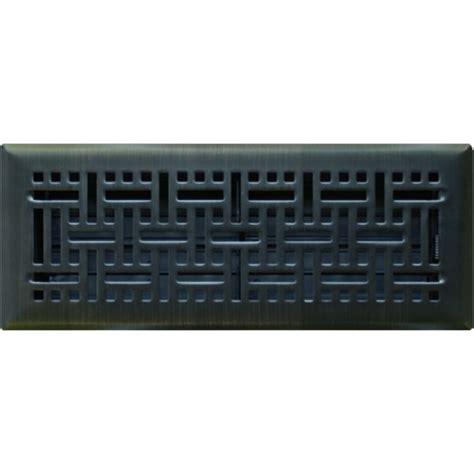 rubbed bronze floor register covers rubbed bronze wicker register 100x300mm floor vents