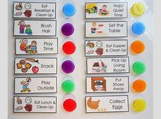 Chore Chart Daily Planner, To Do List, Check List, Kids