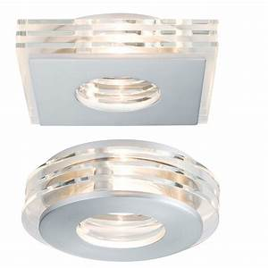 Led Einbaustrahler Glas : 3er set led einbaustrahler alu glas led je 3 5w rund oder eckig wohnlicht ~ Eleganceandgraceweddings.com Haus und Dekorationen
