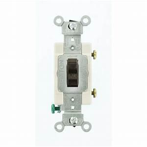 Prise 20 Ampere : leviton 20 amp commercial grade single pole toggle switch ~ Premium-room.com Idées de Décoration