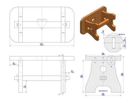 practical stool plan craftsmanspace