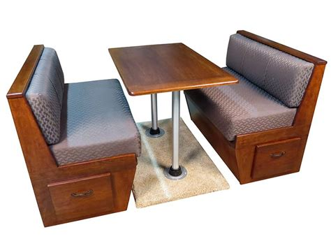 Boat Dinette Bed rv and marine dinette table