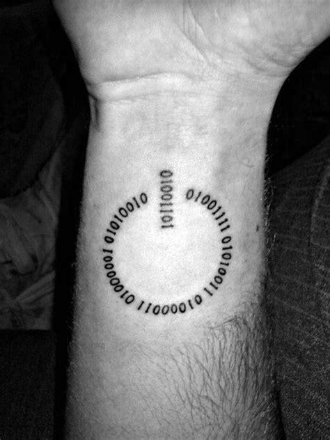 20 Power Symbol Tattoo Designs For Men - Computer Button Ideas