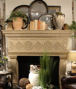 mantel decor for this spring mantel display we wanted to go for a restful serene just
