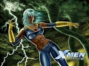 2 Strongest X-Girls vs. 2 Strongest Teen Titans Girls ...
