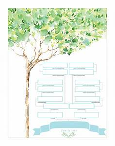 Family Tree Shop : family tree chart watercolor design ~ Bigdaddyawards.com Haus und Dekorationen