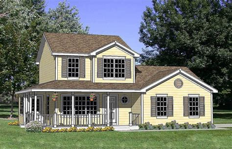 country house plans with porch country house plan with wrap around porch 12730ma